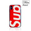 iPhone X Case - SUP Iridescent Mirror Urban Streetwear Fashion Design Supreme