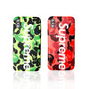 iPhone X Case - Camouflage Urban Streetwear Bape Supreme Design