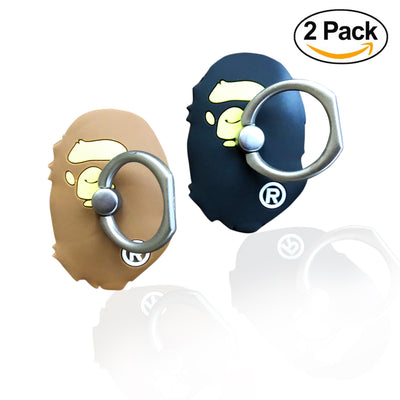 Finger Ring Stand - [2 PACK] Urban Streetwear Latest Fashion Bape Ape
