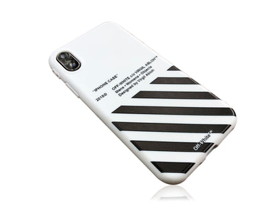 iPhone X Case - OFF WHITE Silicone Design