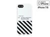 iPhone 7/8 Case - OFF WHITE Silicone Design