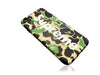 iPhone 7/8 Case - Camouflage Bape X Supreme Silicone Design (GREEN CAMO)