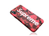 iPhone X Case - Camouflage Bape X Supreme Design (RED CAMO)