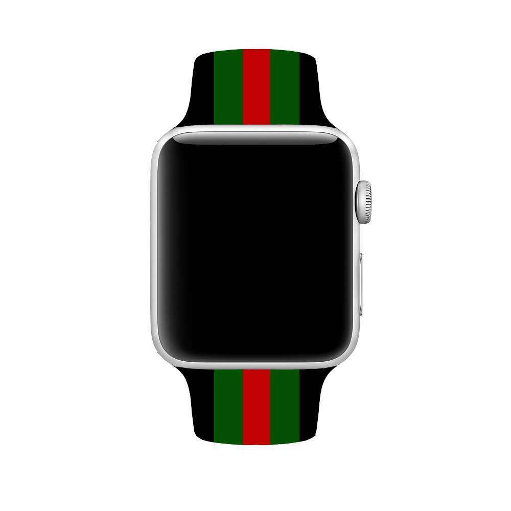 813c228d67a Gucci Style 42MM Silicone Apple Watch Band - Casetection
