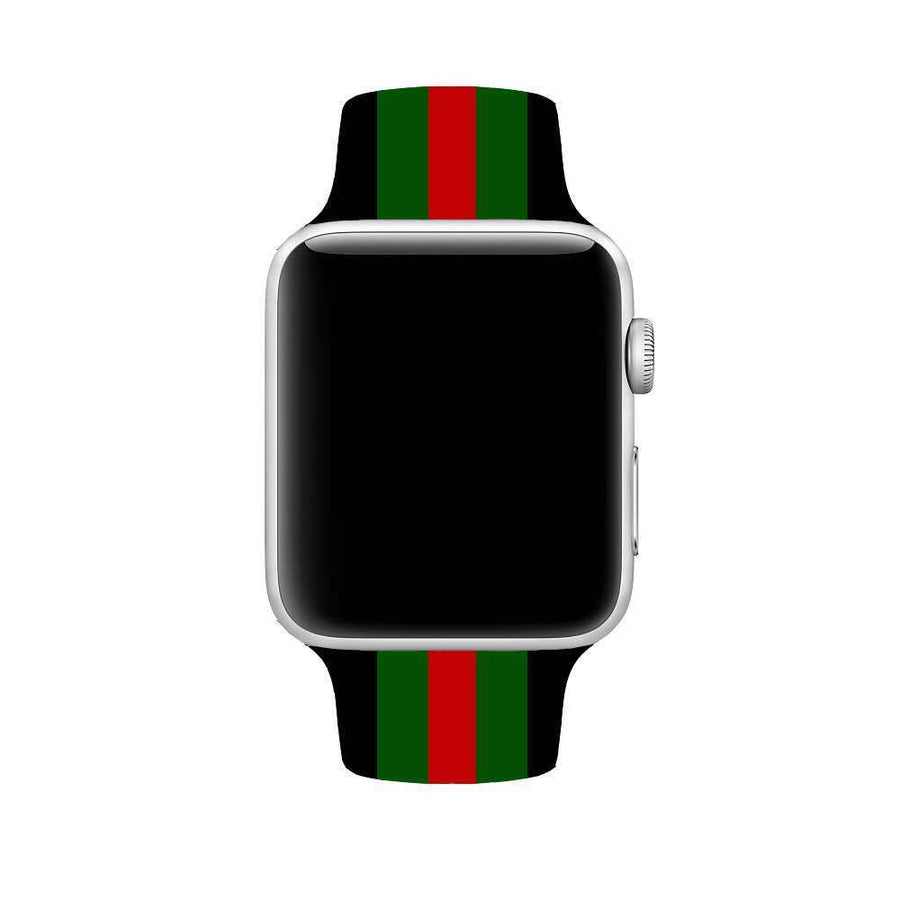 Gucci Style 42MM Silicone Apple Watch Band
