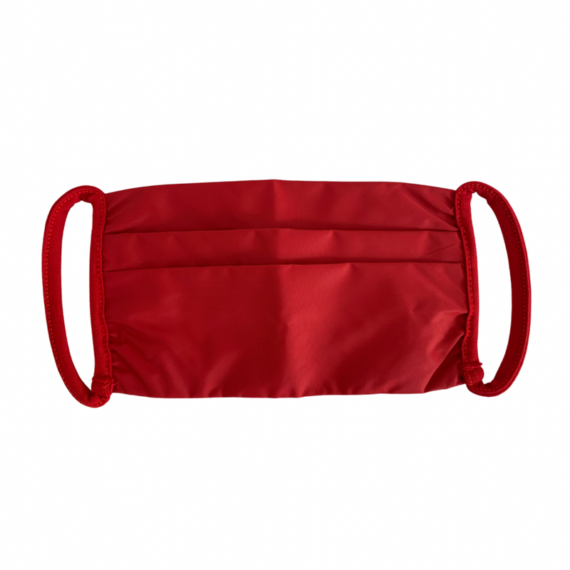 Red Nylon Mask (100% Recycled Nylon)