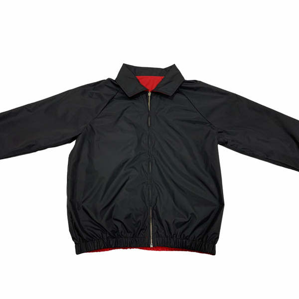 Black Nylon Reversible Jacket
