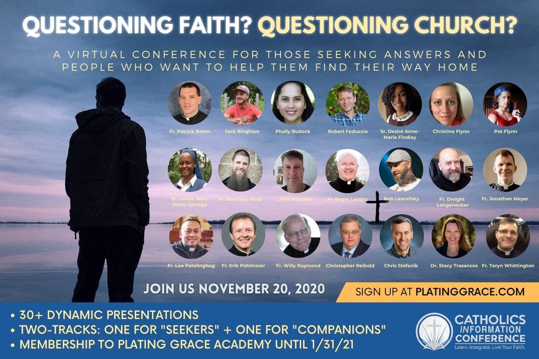 CIC2: Questioning Faith. Questioning Church.