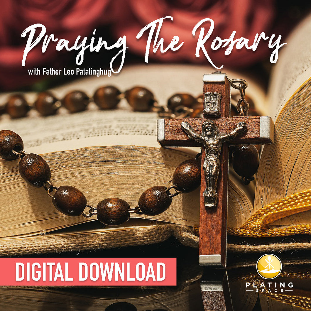 Praying the Rosary with Fr. Leo (Digital Download)