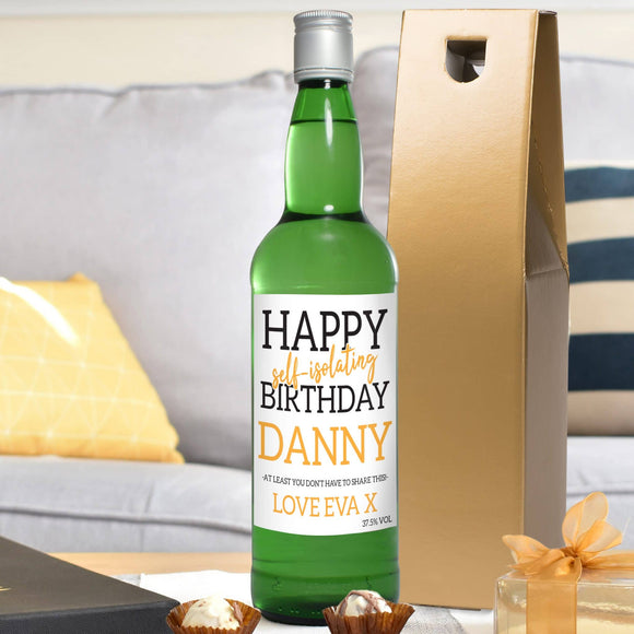 Happy Self Isolating Birthday Gin - Collection Image for Self Isolating Collection