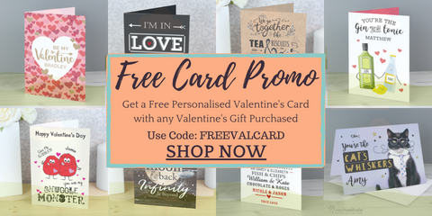Free Personalised Valentine's Card Promo Little Gem Moments