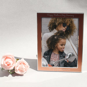 Rose Gold 5x7 Photo Frame