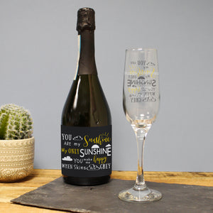 You Are My Sunshine Prosecco Gift Set