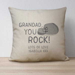 You Rock Linen Cushion
