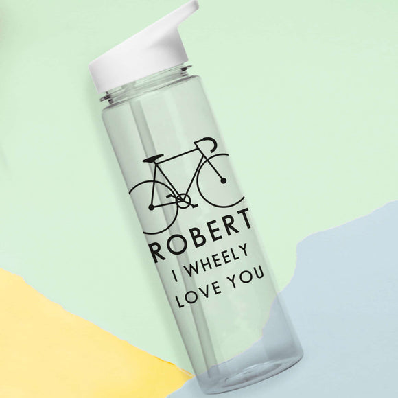 Wheely Love You Water Bottle