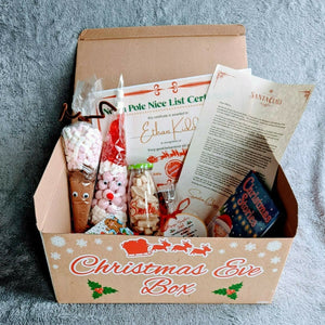Filled Personalised Christmas Eve Box