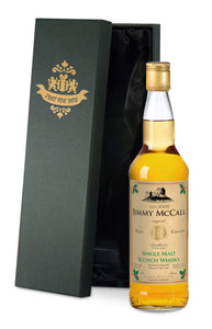 Personalised Christmas Single Malt Whisky