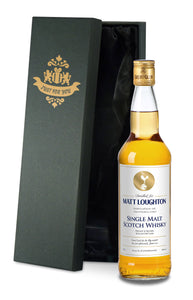 Personalised Spurs White Single Malt Whisky