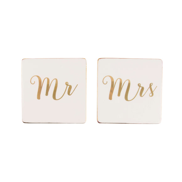 Mr & Mrs Coasters Front