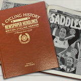 Personalised British Cycling Newspaper Book