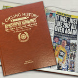 A4 Cycling Newspaper Book