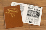Personalised American Football Newspaper Book