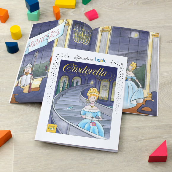 Personalised Cinderella Book - Signature Favourite