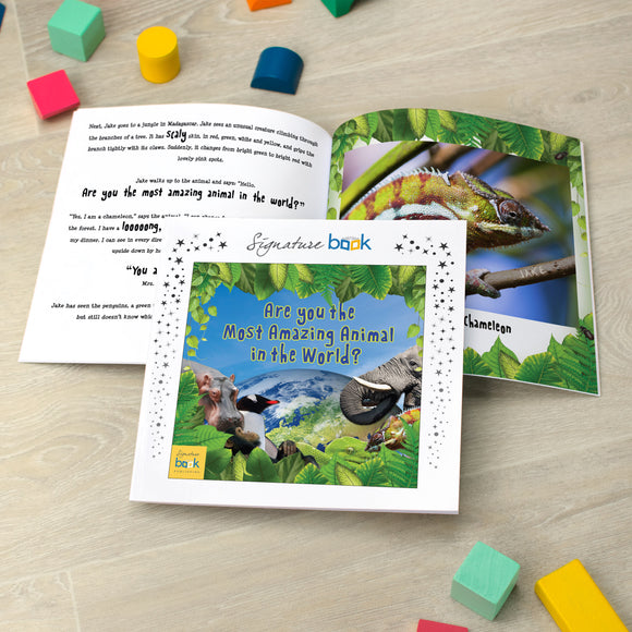 Personalised Most Amazing Animal Book - Signature Favourite