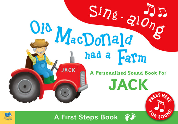 Personalised Old Macdonald Sound Book