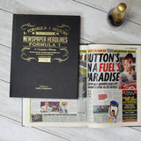 Personalised Formula 1 Book