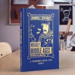 Personalised Horrible Histories Measly Middle-Ages Book