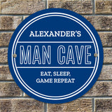 Personalised Man Cave Sign Image 3