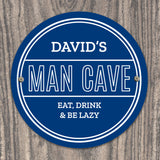 Personalised Man Cave Sign Image 1