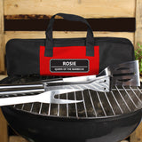 Personalised Stainless Steel BBQ Kit Main Image