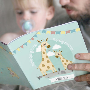 Personalised Big Sister New Baby Book Main Image