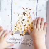 Personalised New Baby Book with Child Hands