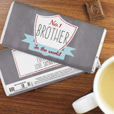 No.1 Brother Personalised Chocolate