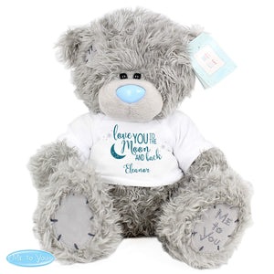 Me to You To The Moon and Back Personalised Teddy Bear