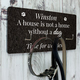 Personalised Dog Lead Hanging Hooks