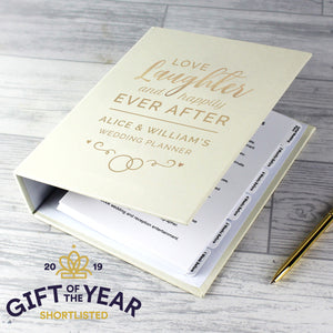 Personalised Wedding Planner
