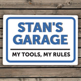 Personalised Garage Sign Image 2