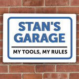 Personalised Garage Sign Main Image