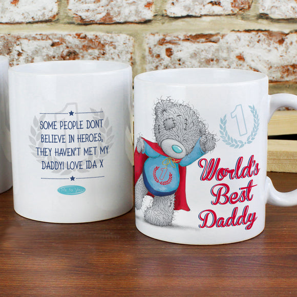 Personalised Me to You World's Best Daddy Mug