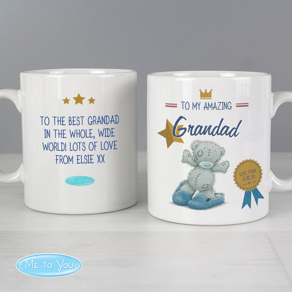Personalised Me to You Slippers Mug Main Image