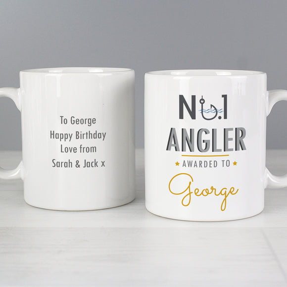 Personalised No1 Angler Mug Main Image