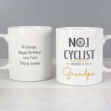 Personalised No1 Cyclist Mug Main Image