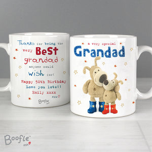 Personalised Boofle Special Grandad Mug Front and Back Main Image