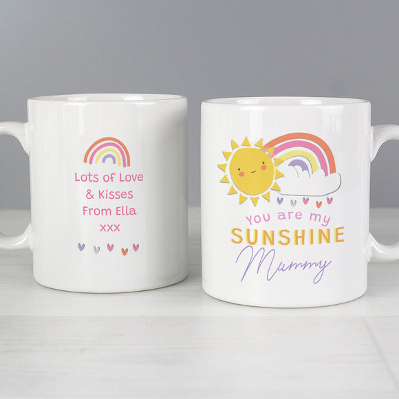 Personalised You Are My Sunshine Mug