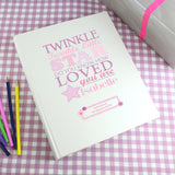 Personalised Twinkle Photo Album Pink