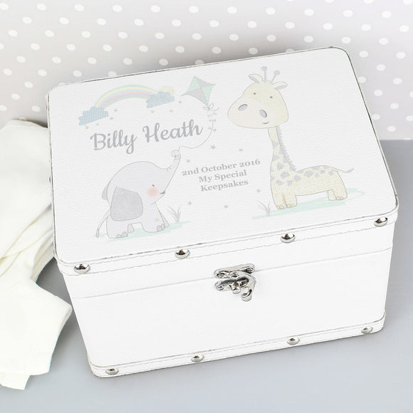 Personalised Keepsake Memory Baby Box